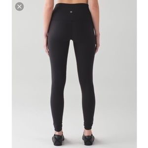 Lululemon Black Full Length Wunder Unders